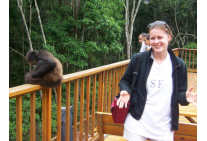 Guest At Monkeyland